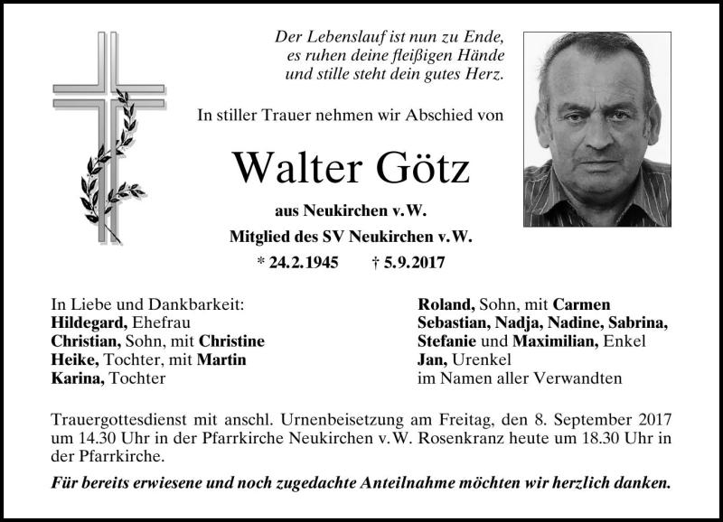 Walter Gotz Pnp Trauerportal
