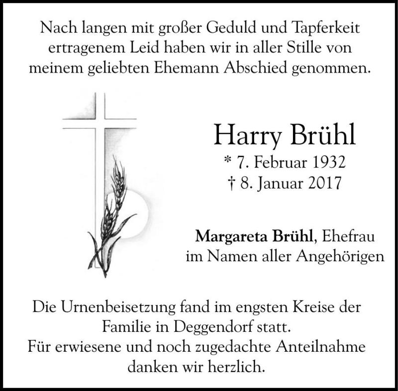 Harry Brühl, Deggendorf