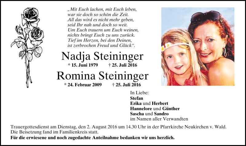Passauer Neue Presse Trauer